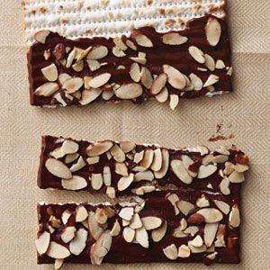 Chocolate-Covered Matzo Recipe - Woman's Day
