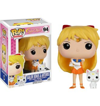 Sailor Venus with Artemis Pop! Vinyl Figure