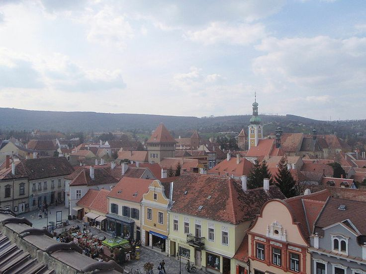 She lives in a small town in Hungary, called Kőszeg.