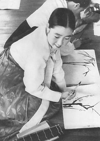 gisaeng drawing