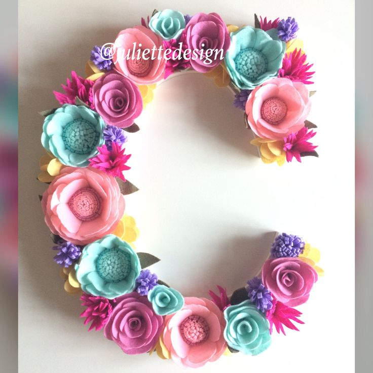A personal favorite from my Etsy shop https://www.etsy.com/listing/589949913/buy-2-get-1-free-floral-letter-felt