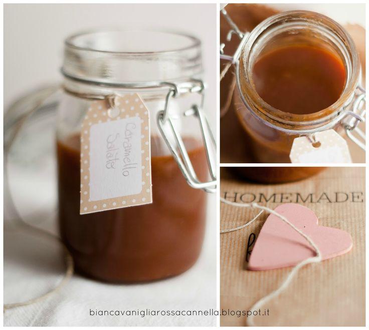 Biancavaniglia Rossacannella: Caramello salato home-made