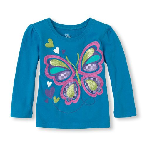 Your butterfly lover will go for this pretty tee!