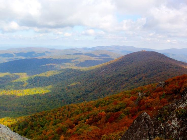 Bearfence Mountain, Shenandoah National Park | The view