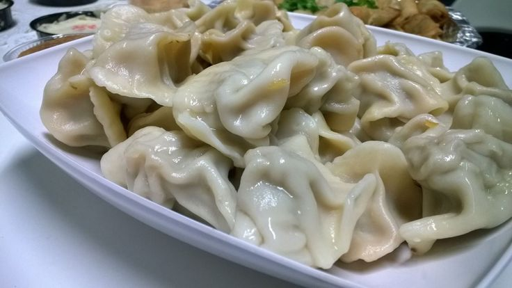 Chinese food at blur: Jiaozi!! #CulturalFriday