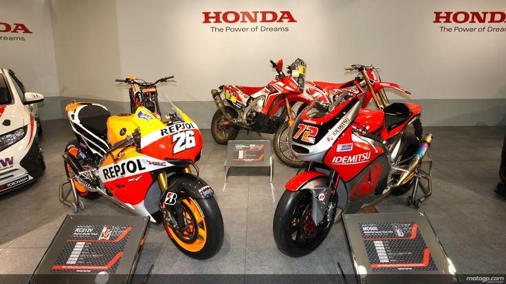 Honda RC231V & Moriwaki Moto2