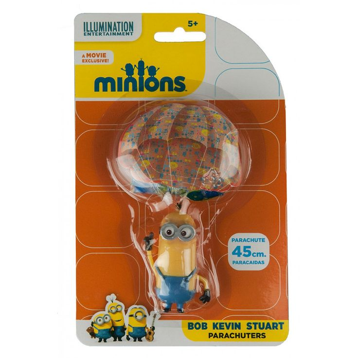 Minions Parachuter Kevin from Funstra Toys