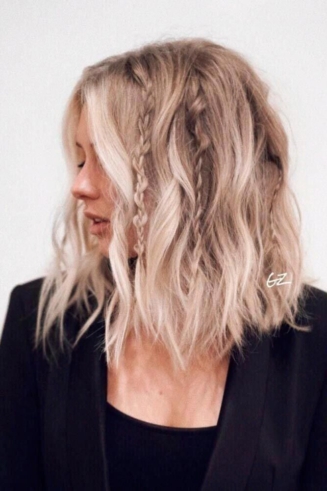 Cute And Easy Shoulder Length Hairstyles For Thin And For Thick Hair Can Be Found Here These St In 2020 Thick Hair Styles Short Hairstyles For Thick Hair Stylish Hair