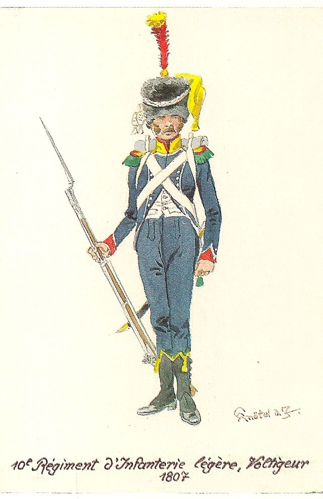 French; 10th Light Infantry, Voltigeur, 1807