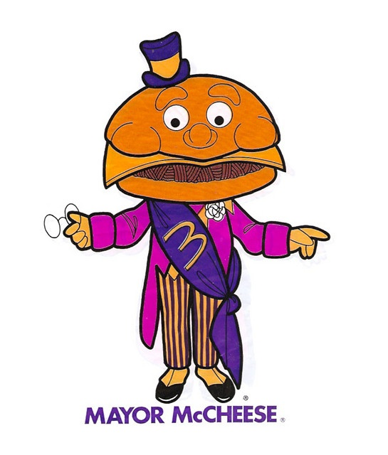 70's McDonaldland Mayor McCheese Puppet Premium