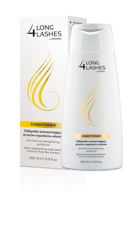 Oceanic LONG4LASHES ANTI-HAIR LOSS STRENGTHENING CONDITIONER 200ml FREE SHIPPING #Oceanic