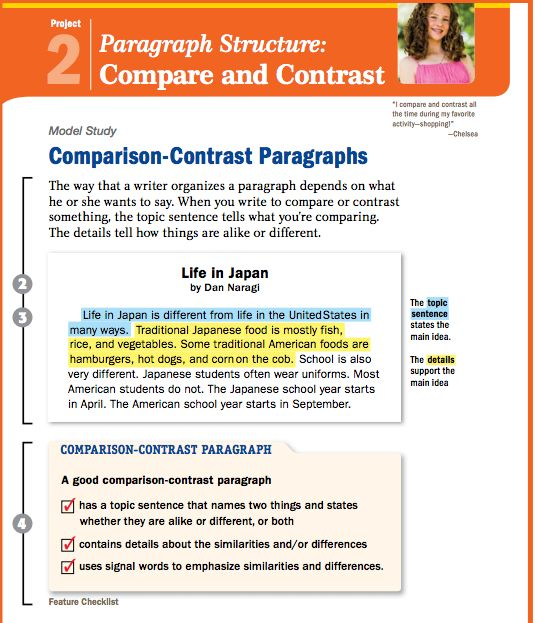 Compare two cars essay