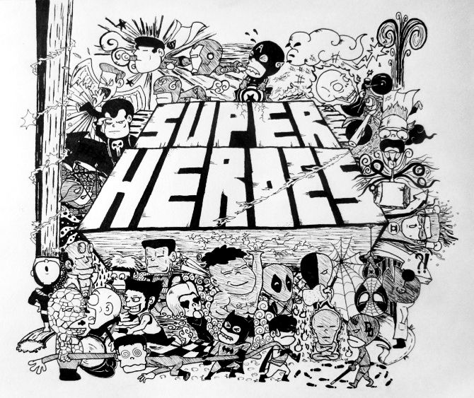 My fav super heroes