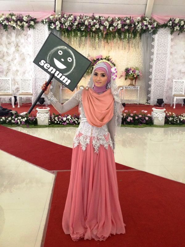 wedding dress - moslem wedding