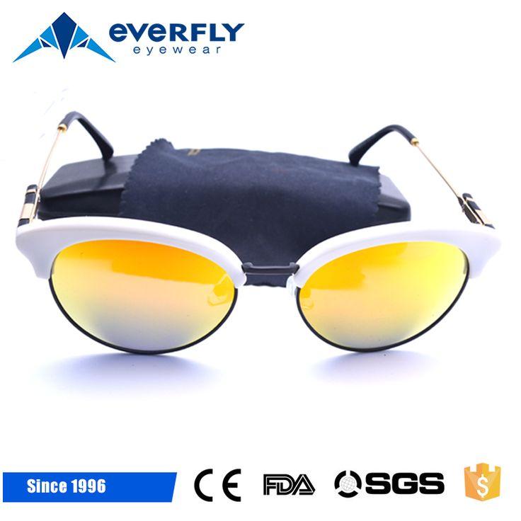 2017 New hot TR90 women white sunglasses Polarizing mirrored wholesale sunglasses product