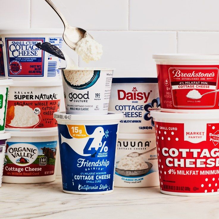 Taste Test Cottage Cheese Cottage Cheese Organic Cottage Cheese Epicurious