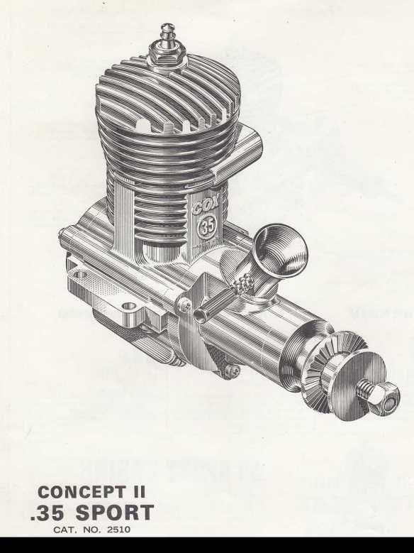 Cox concept 2 engines were proposed about the time they went under. There are a few prototypes out there, but not many.