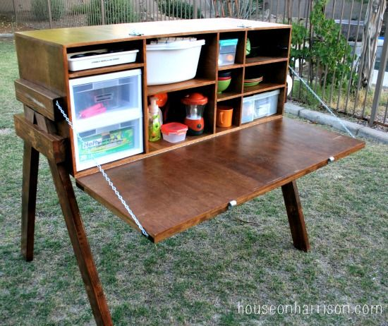 Chuck box / camp kitchen ... good one! I'm determined to fabricate one that's lighter weight.
