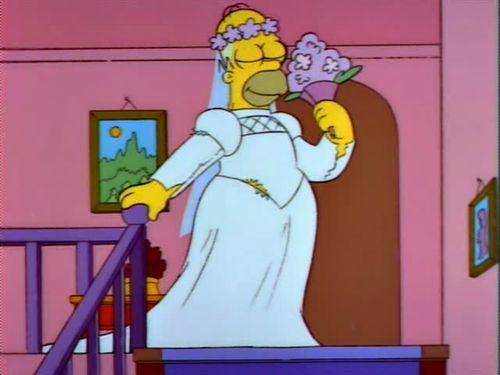 Homer the transvestite