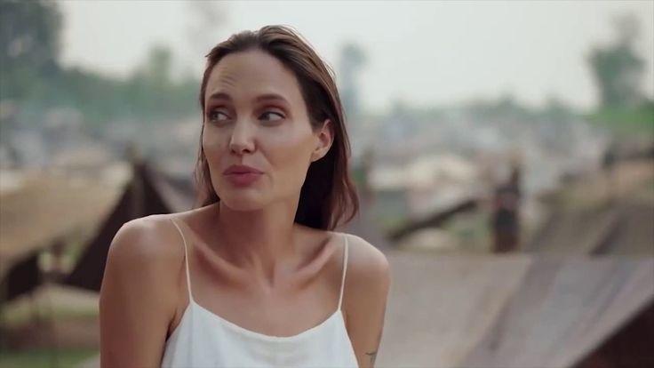 "ANGELINA JOLIE habla sobre su pelicula para netflix ""First They Killed M..."
