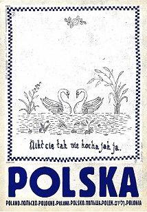 Ryszard Kaja - Polska, Makatka, polski plakat turystyczny