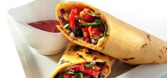 Grilled Veggie Wraps - Healthy Recipes - YourLifeChoices