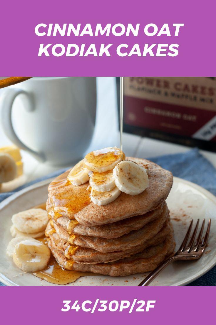 Cinnamon oat kodiak cakes macrostax in 2020 kodiak cakes