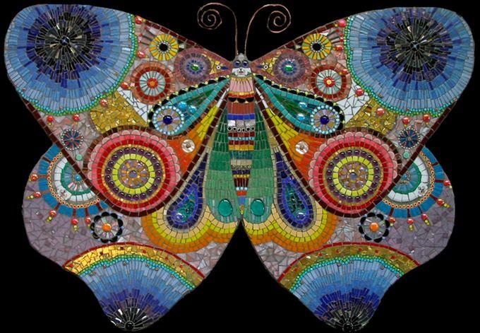 87 Best Mosaics Butterflies Dragonflies Insects Bugs
