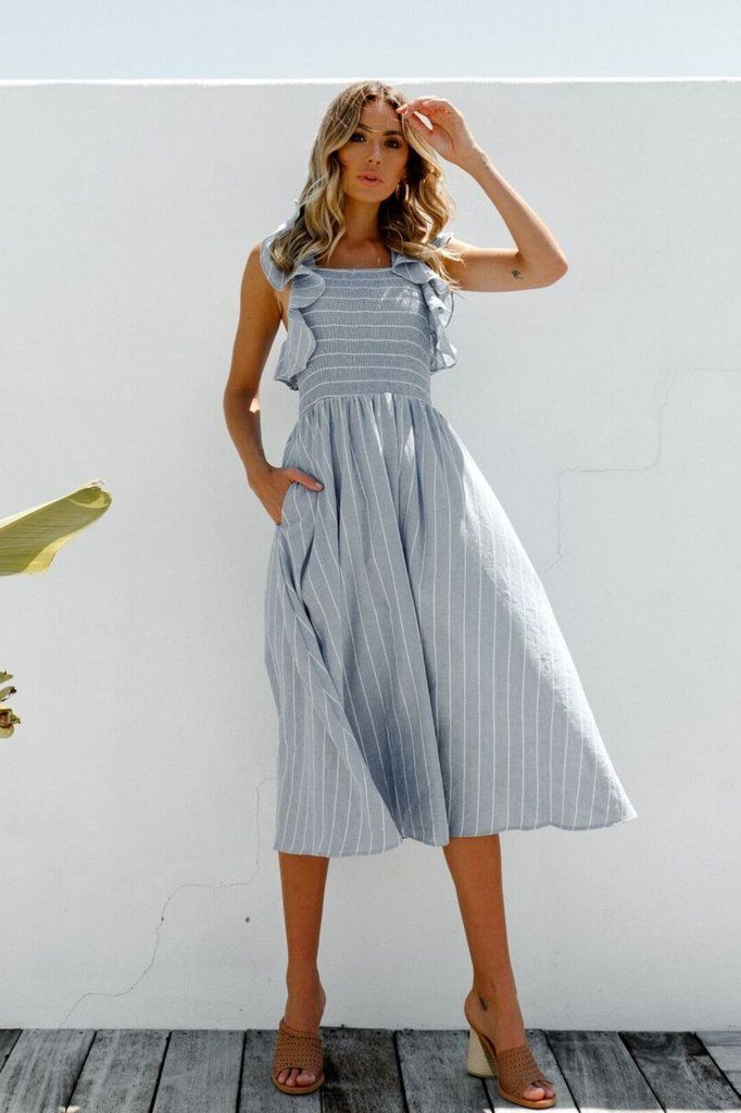 d88e0cf8a1011 The cutest cotton dress perfect for summer days! Dorothy Dress