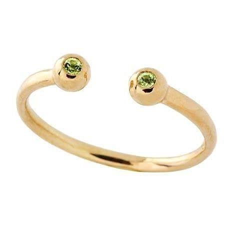 #peridot set in #9ctgold is a must have for birthday girls in August! View our collection online www.freerangejewels.co.za #handmadejewelry #bespokejewellery #madeinthecape