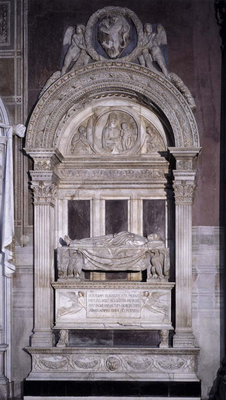 leonardo bruni An eminent italian humanist, b of poor and humble parents at arezzo, the birthplace of petrarch, in 1369 d at florence, 9 march, 1444he is also called aretino from the city of his birth beginning at first the study of law, he later, under the patronage of salutato and the influence of the greek scholar chrysoloras, turned his attention to the study of the classics.