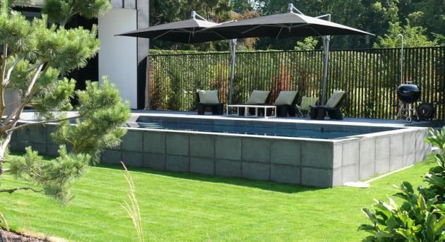 Le 25 migliori idee su piscine semi enterree su pinterest for Piscine semi enterree
