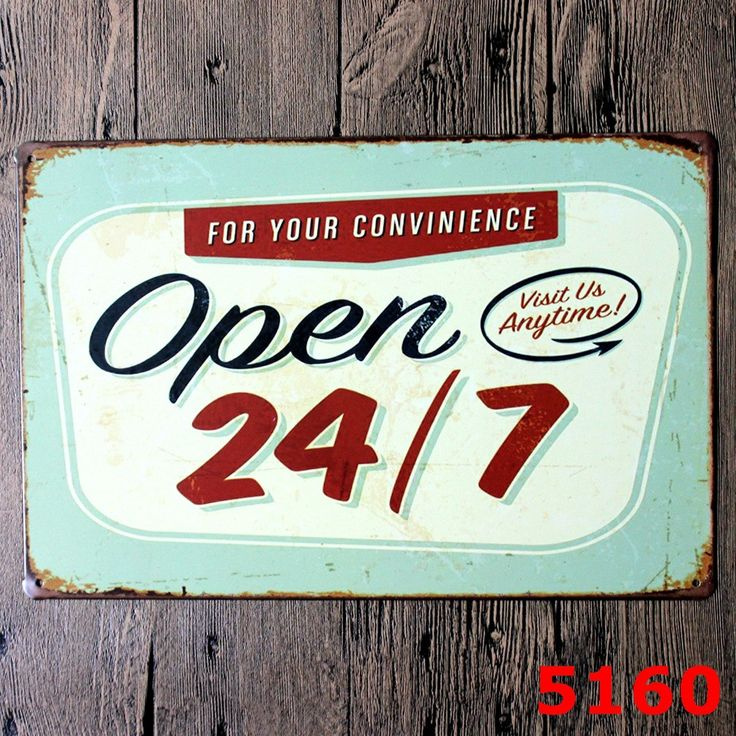 Tropical Bar Come In We Are OPen Open 24/7 Sorry We are Closed Vintage Sign for Shop Owners Retail Store Signage Retro Chic Shop Decor  Resellers welcome. Subcribe to our mailing list for updates on new items.