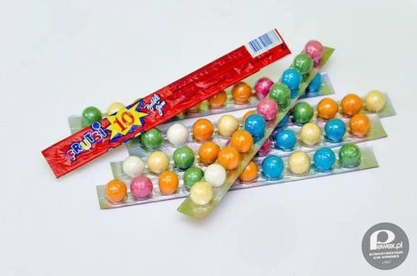 Gumy kulki – Jedna guma to było coś ale cały pasek to szczyt marzeń.