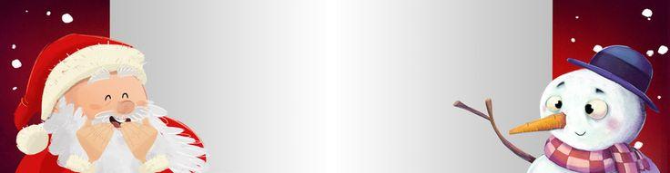 santa claus, santa, claus, papa noel, navidad, regalos, presente, celebracion, fiesta, muñeco de nieve, zanahoria, anuncio, cartel, banner, señal, acontecimiento, barba, rojo, feliz, alegre, niños, infancia, infantil, sorpresa, viejo, anciano, caminando, corriendo, ilustracion, dibujo, dibujo animado, riendo, fondo rojo, cara, nieve, nevando, invierno, felicitacion