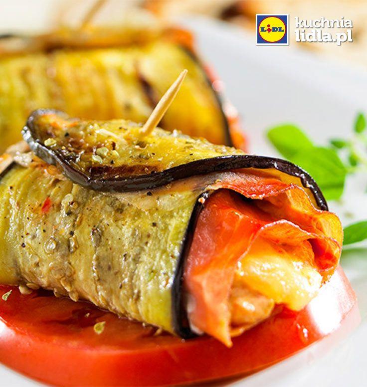 Roladki z bakłażana. Kuchnia Lidla - Lidl Polska #kuchniagrecka #baklazan