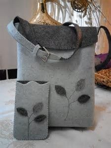 creare borse in feltro için resim sonucu