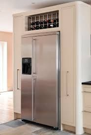 Image result for american fridge freezer white gloss built in