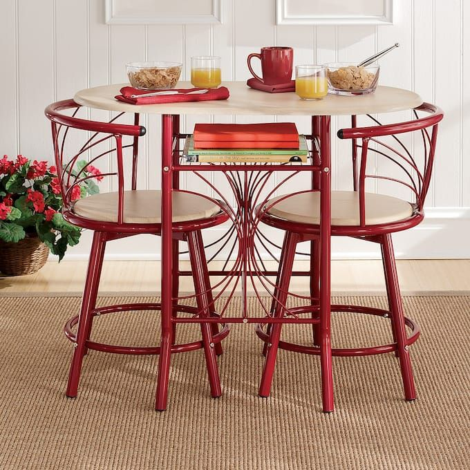 Registry Or Wishlist Bistro Table Set Indoor Bistro Table Kitchen Table Settings