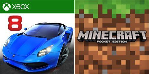 Asphalt 8: Airborne e Minecraft: Pocket Edition (e Windows 10 Edition) ricevono un nuovo aggiornamento http://www.sapereweb.it/asphalt-8-airborne-e-minecraft-pocket-edition-e-windows-10-edition-ricevono-un-nuovo-aggiornamento/        Nella giornata di oggi due popolari giochi disponibili su Windows Phone hanno ricevuto un aggiornamento, parliamo diAsphalt 8: Airborne e Minecraft: Pocket Edition.    Asphalt 8: Airborne ha ricevuto un aggiornamento che spinge la propria ver