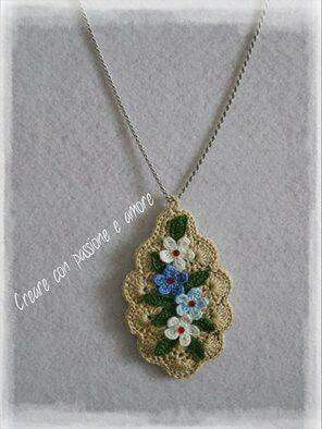 Simple yet Elegant Flower Necklace... :-)