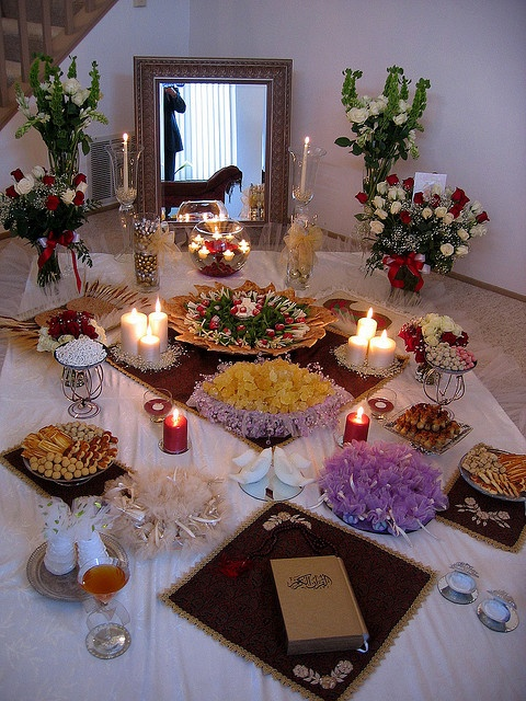 Another beautiful Persian wedding sofreh