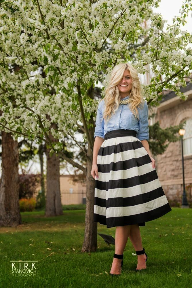 No jewelry    Great fashion blog for LDS girls. modest and stylish outfits. @Chandler Roberson
