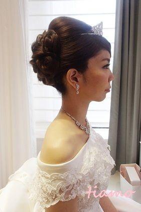 挙式~二次会まで♪4スタイルチェンジの素敵花嫁さまの一日 の画像|大人可愛いブライダルヘアメイク『tiamo』の結婚カタログ