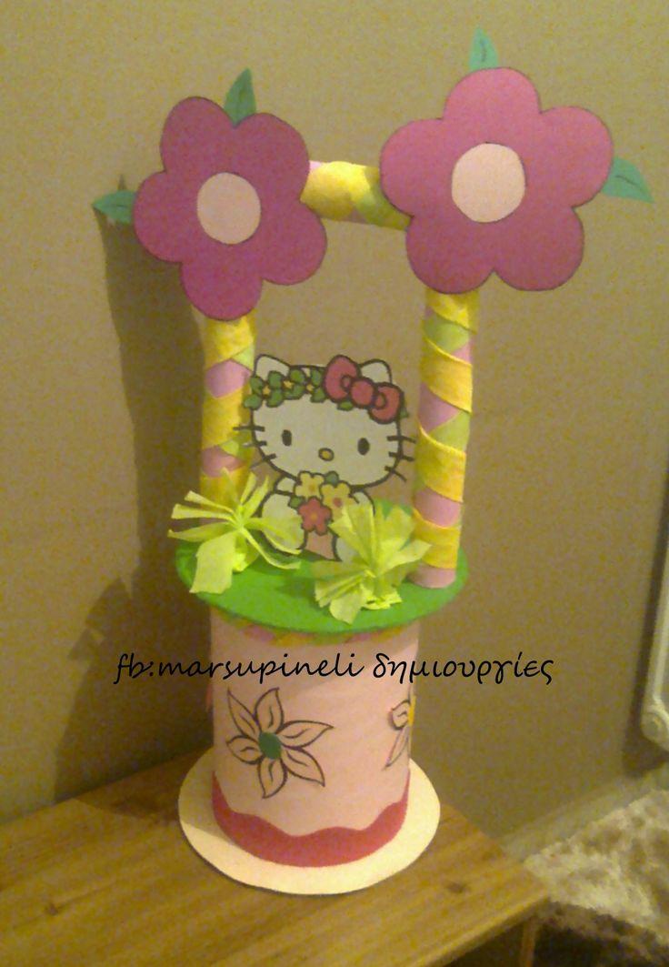 Διακόσμηση πάρτυ για κορίτσια με θέμα Hello Kitty.