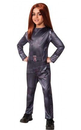 disfraz de viuda negra capitn amrica el soldado de invierno para nia