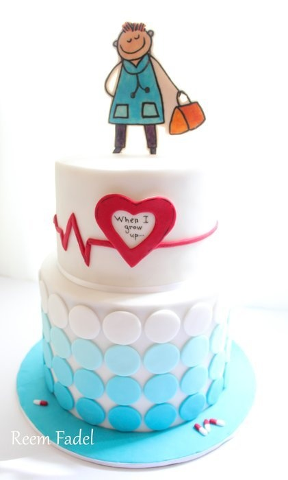 76 best Doctor/Nurse Cakes images on Pinterest