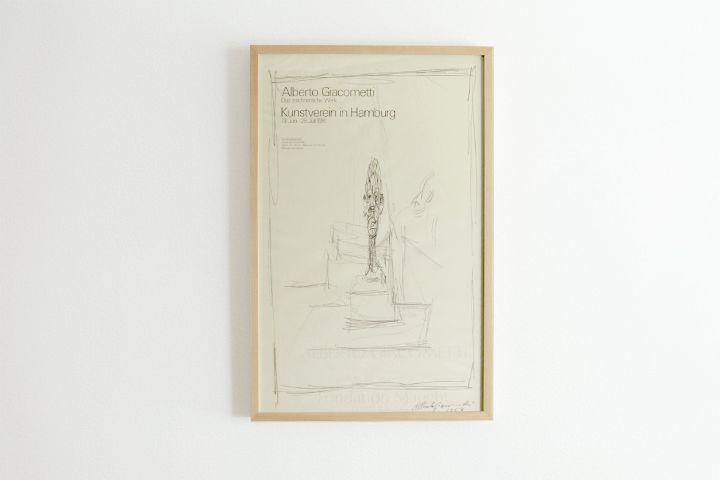 Alberto Giacometti / Kunstverein Hamburg - 1981