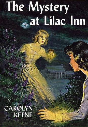 The Mystery at Lilac Inn (Nancy Drew Mystery Stories # 4, originally published 1930) by Carolyn Keene. #whatwouldnancywear #nancydrew