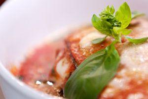 aubergines met parmezaanse kaas - Liliana Rizzuto